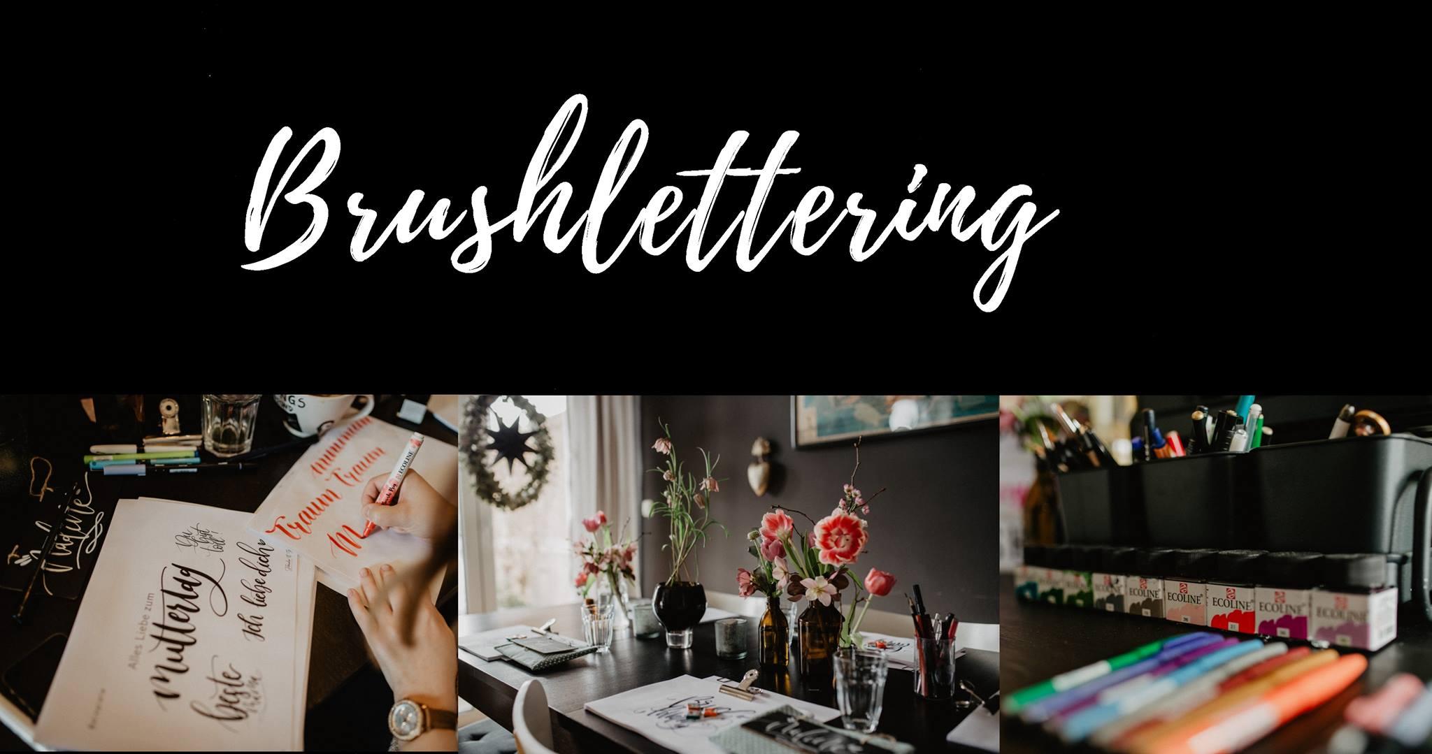 Brushlettering für Floristen, deine Handschrift als Visitenkarte