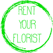Rent your Florist Logo